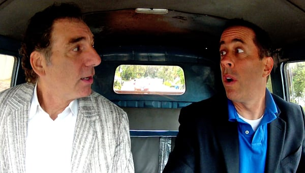 "COMEDIANS IN CARS ""Michael Richards"""