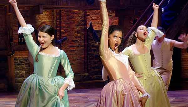 "HAMILTON""The Schuyler Sisters"""