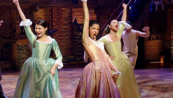 "HAMILTON ""The Schuyler Sisters"""
